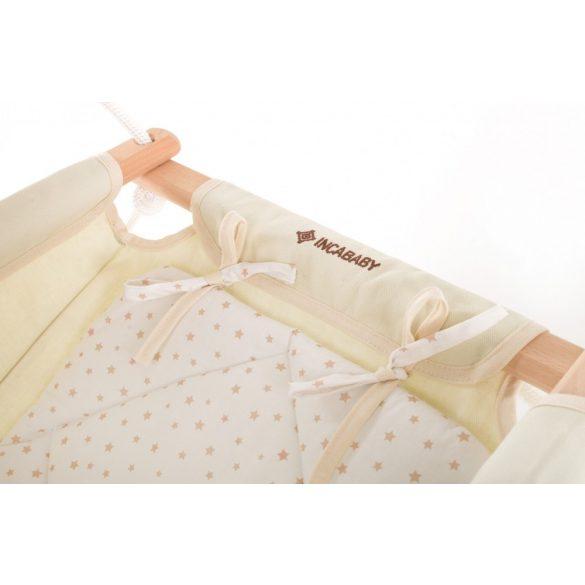 Incababy Babyschaukel Beige Stars FW